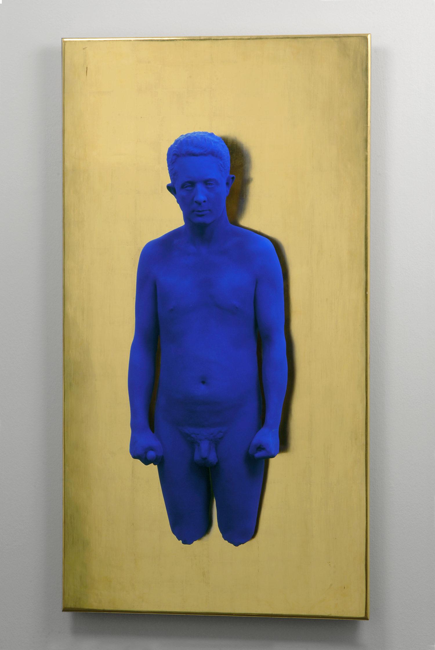 Yves Klein, Ritratto in rilievo di Claude Pascal, 1962