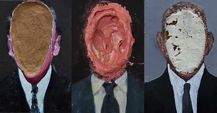 "La pittura obliqua di Daniele Galliano. ""Empty heads"" alla Galleria In Arco"