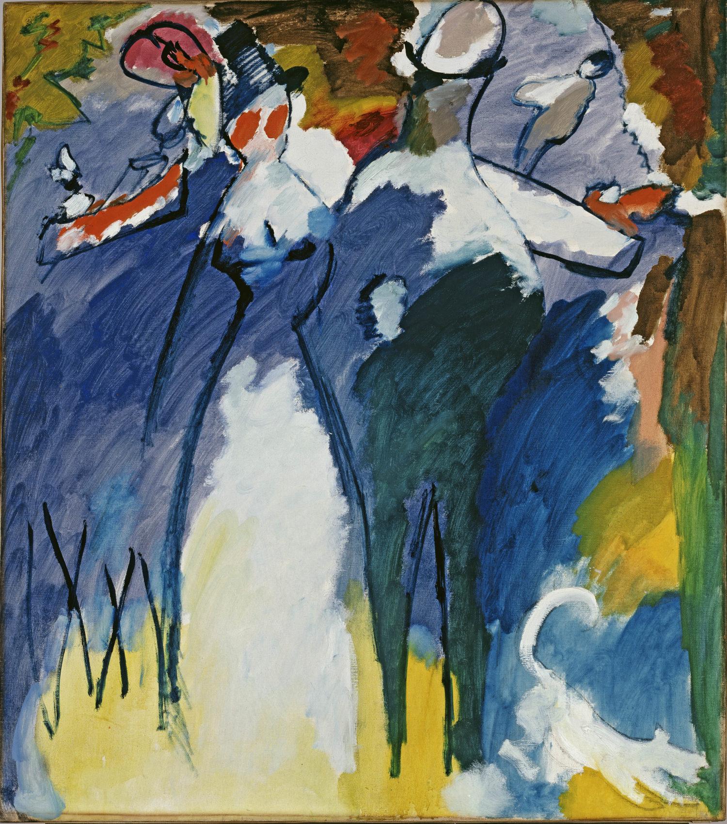 Wassily Kandinsky, Impression sonntag, 1911
