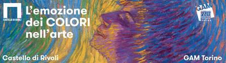 """""""Colori. L'emozione dei colori nell'arte"""" si articola tra la Gam Galleria Civica d'Arte Moderna ed il Castello di Rivoli. Fino al 23 luglio (""""Profumo"""" di Luigi Russolo, 1910)"""