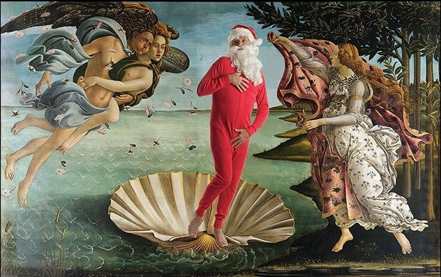 Babbo Natale nell'iconografia: l'emozione visiva del rubicondo e barbuto signore dei doni, di rosso vestito e con l'inconfondibile cappello