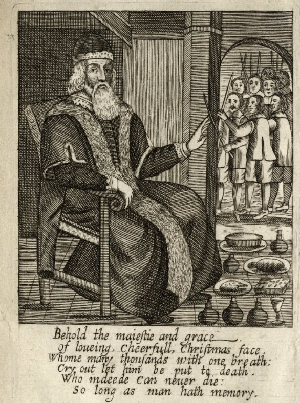 Josiah King, The Examination and Tryal of Old Father Christmas, 1686